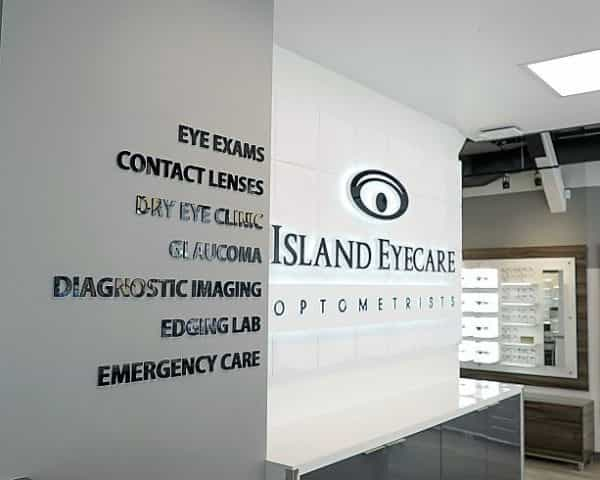 Island Eyecare in Victoria BC